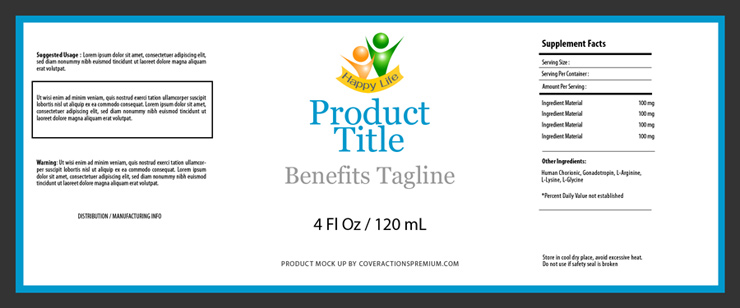 4 Oz Bottle Label Template