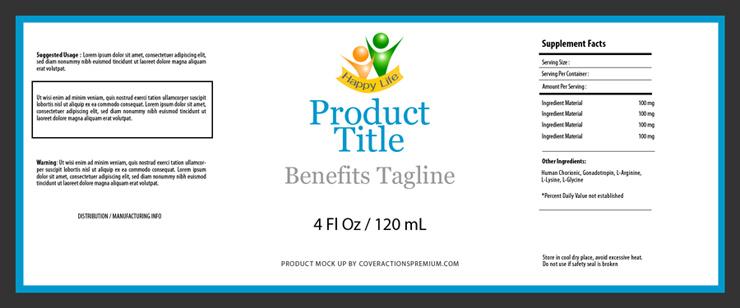 4 oz bottle label template