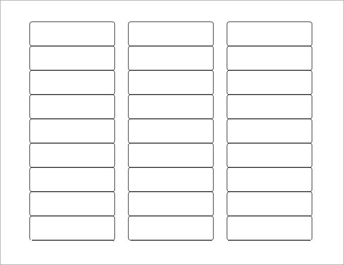 8+ label templates for word | Survey Template Words