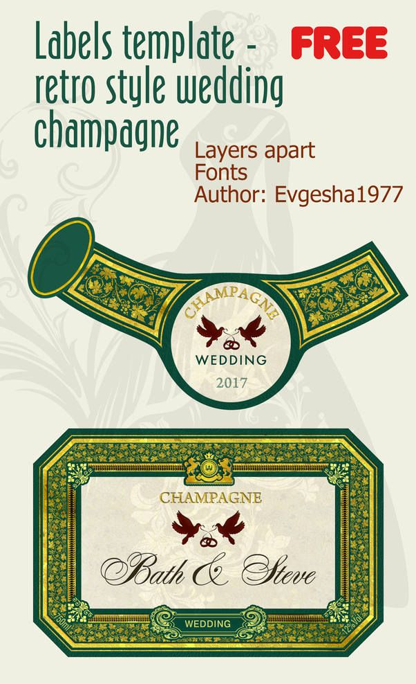 Professional Wine Champagne Labels | Fonts logos icons | Pinterest