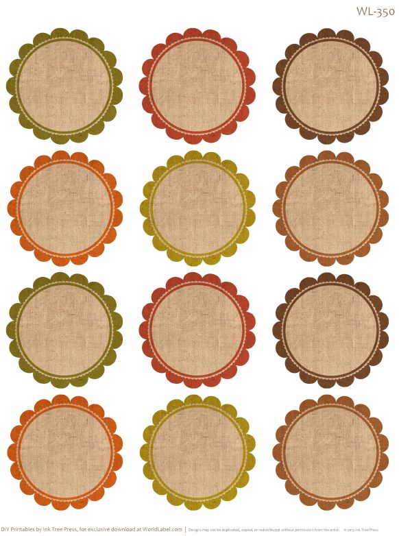 25+ unique Round labels ideas on Pinterest | Kitchen jar labels