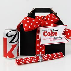 DIY Diet Coke bottle hack free printable stickers | Diet coke