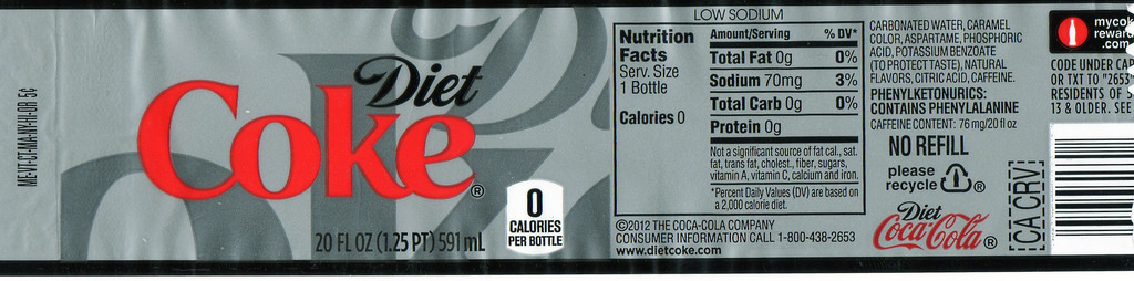 Images of Printable Coke Label For #SC