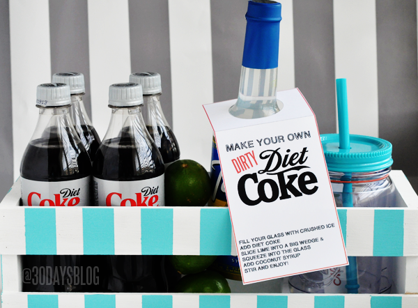 Dirty Diet Coke Kit + Printable