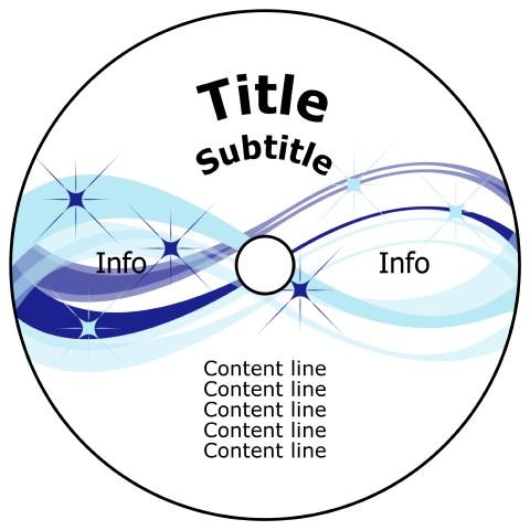 Free download DVD label template, print DVD labels, custom DVD labels