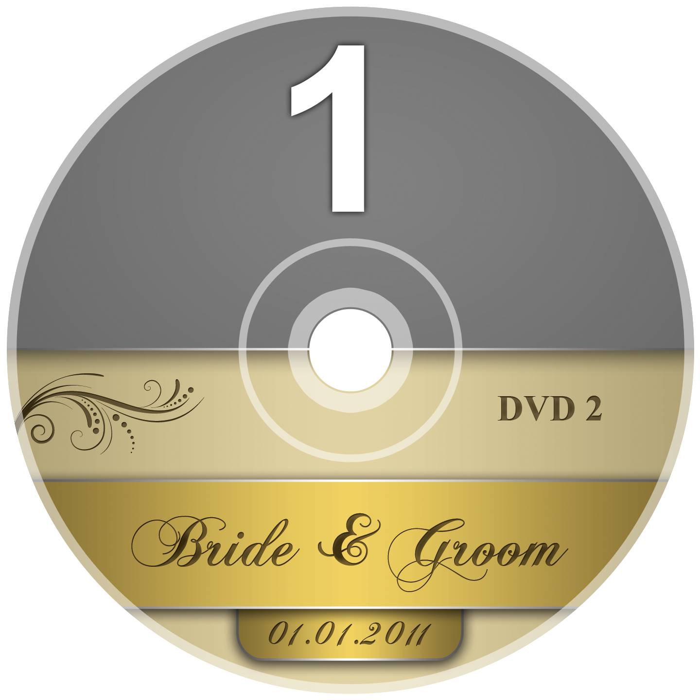 dvd label template psd