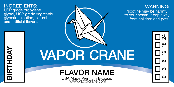 Vapor Crane E liquid Branding on Behance