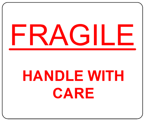 fragile handle with care labels pdf