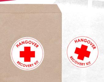 Oh Sh*t Kits / Hangover Kits for Bachelorette Party – SunshineCoastDIY