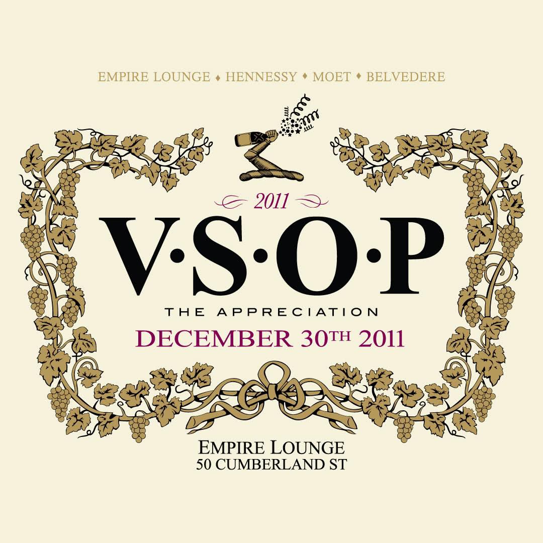 C.A. Confidential: VSOP @ Empire Lounge, Toronto, ON Fri Dec 30th!