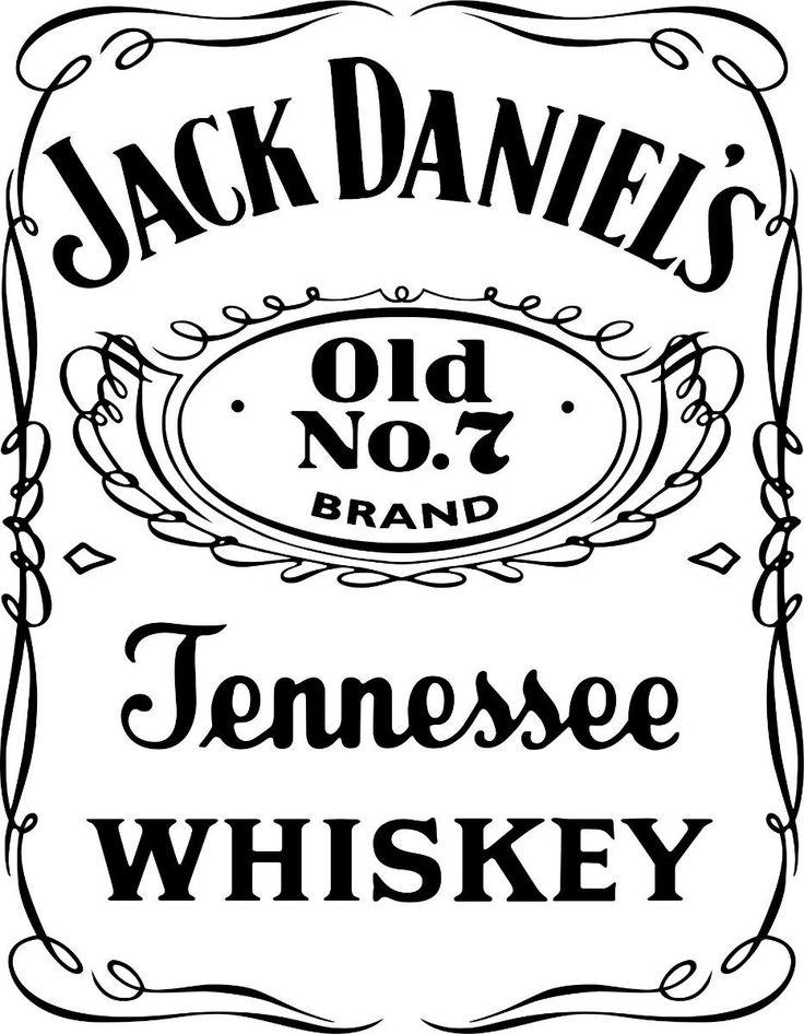 Jack Daniels Label Template Logo Whiskey Eiucwh Maker