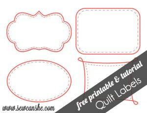 free printable label templates