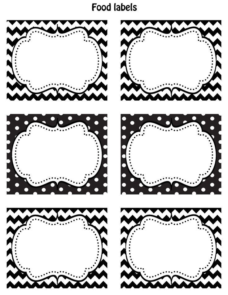 Freebie Fridays: Printable Notepads and Labels · Ruffled