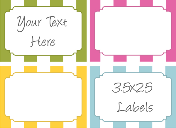 Free Printable Labels for Bake Sale Goodies | Bake Sale Flyers