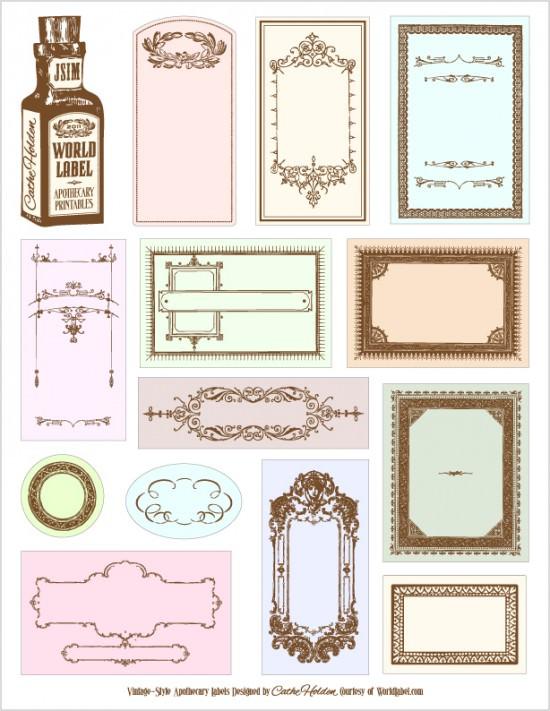 25+ unique Free printable labels ideas on Pinterest | Make labels
