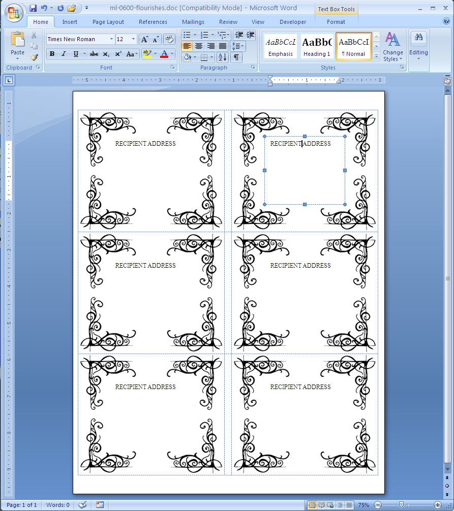Label template in word printable label templates for Avery label templates for word 2010