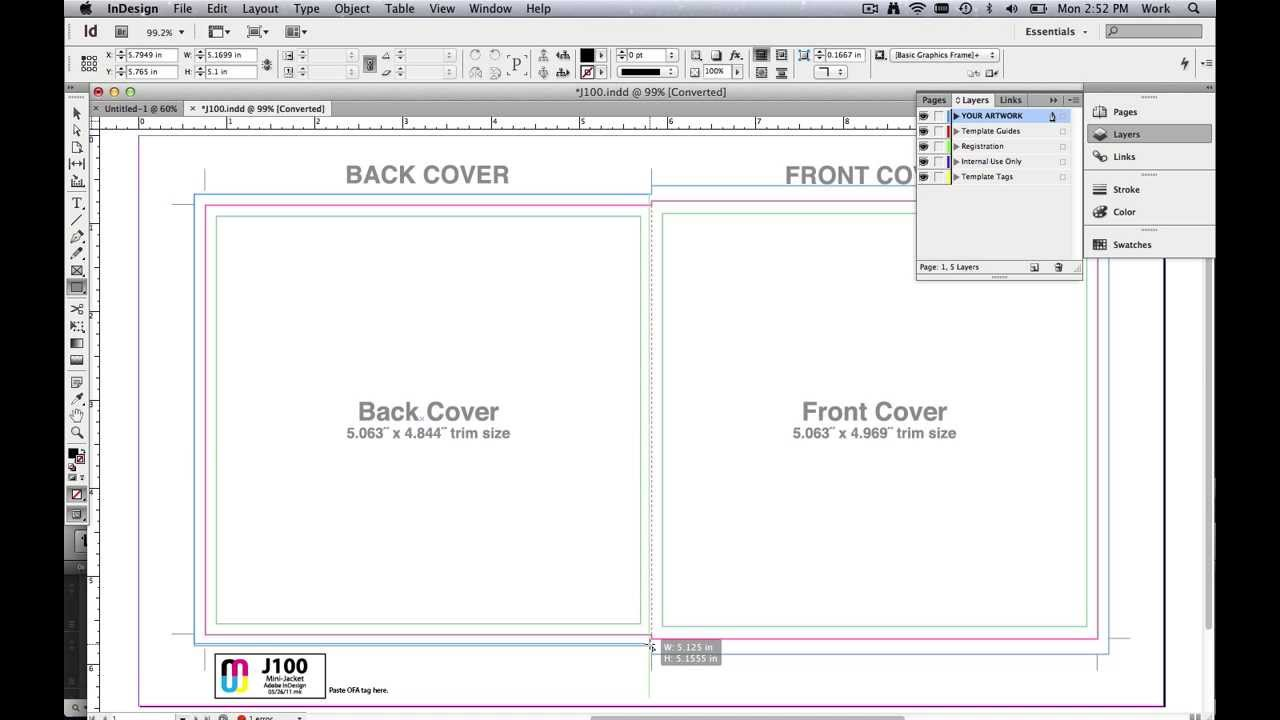 How to use PDF Templates for Labels & Business Cards in Adobe