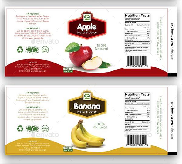 20+ Food Label Templates Free PSD, EPS, AI, Illustrator Format