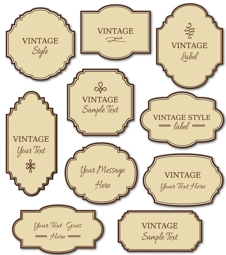 25+ unique Label templates ideas on Pinterest | Print address