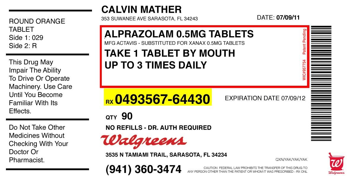 6+ Pill Bottle Label Templates Design, Templates | Free