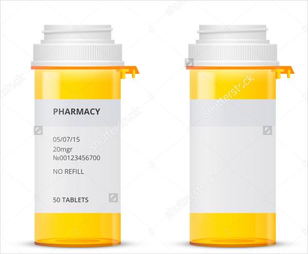 medicine label template