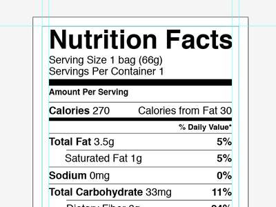 nutrition label template printable label templates. Black Bedroom Furniture Sets. Home Design Ideas