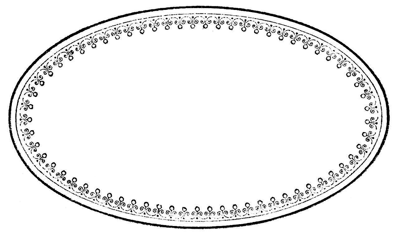 Oval Label Template For Word and Avery® L6024REV