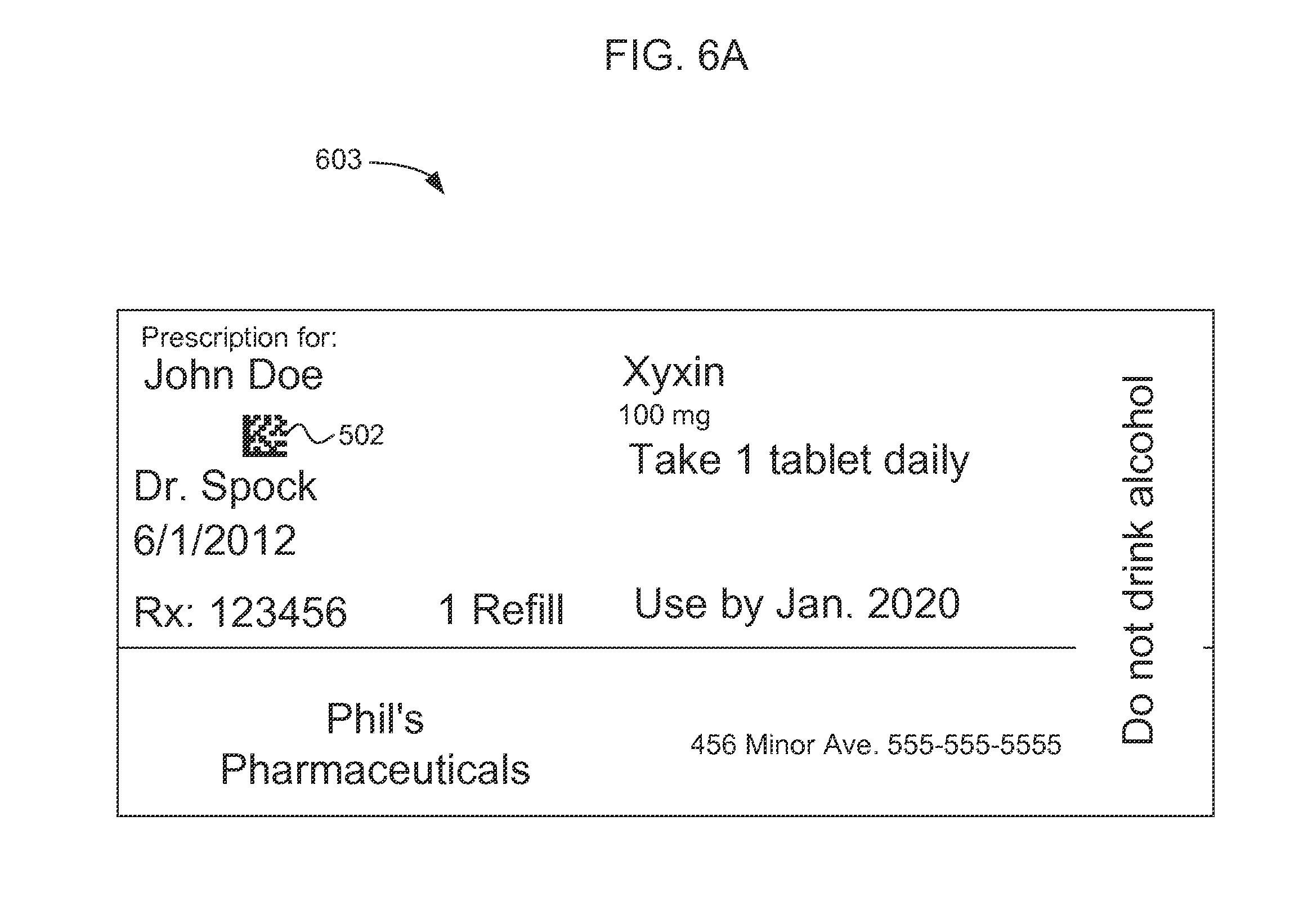 Patent US20120330665 Prescription label reader Google Patents
