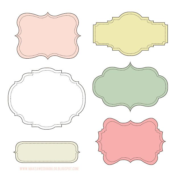 Christmas Elf Assorted Printable Round Stickers Label Templates