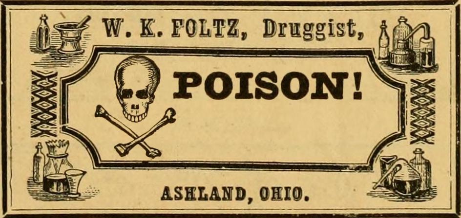 Poison Label Clip Art (70+)