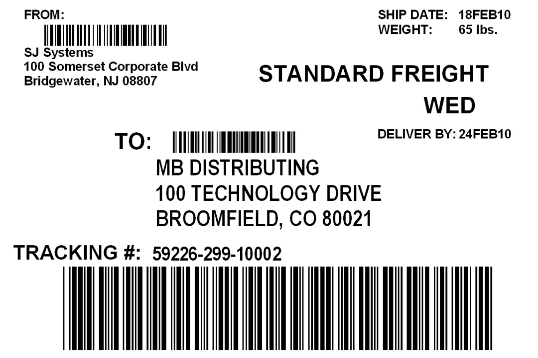 How To Print Shipping Label Template Word Aashe