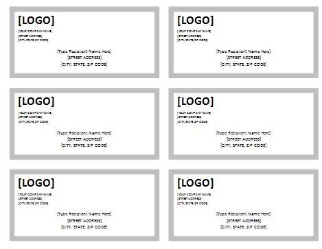 Usps Shipping Label Template | rubybursa.com
