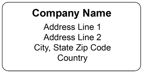 Shipping Label Template | printable label templates