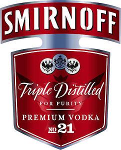 NEW Smirnoff Vodka Bottle Red Label Airbrush Stencil Template Step