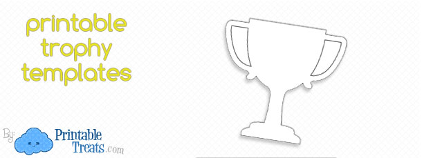 Free Printable Trophy Template — Printable Treats.com