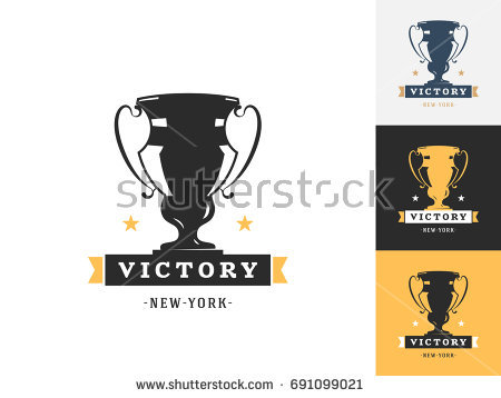 Declarative image with printable trophy labels