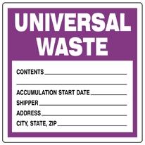 ICC > Labels  > Waste  > Universal