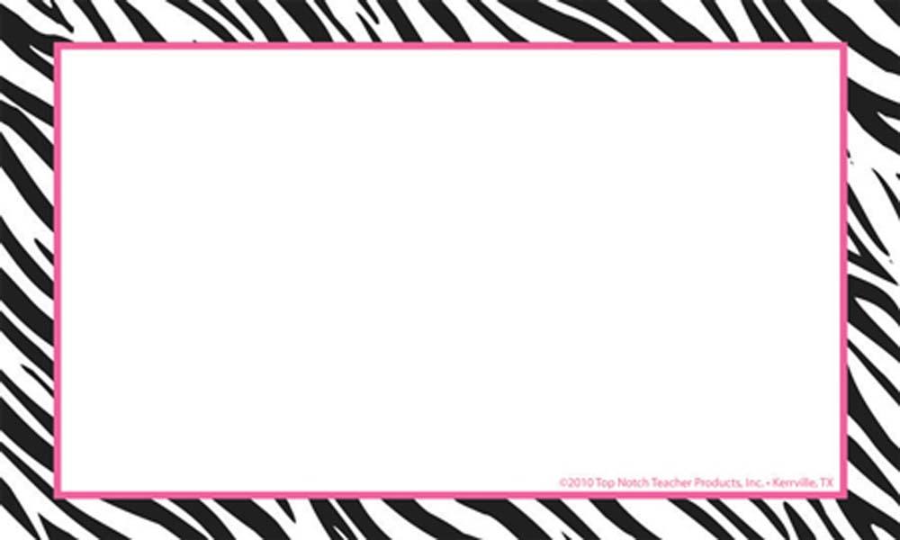 Zebra Border Template | Free Download Clip Art | Free Clip Art