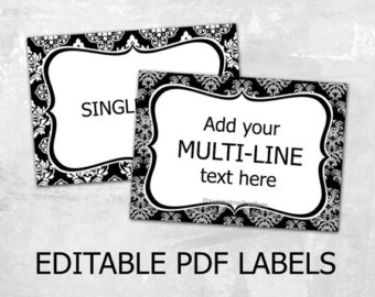 Download Label Templates RL785 4