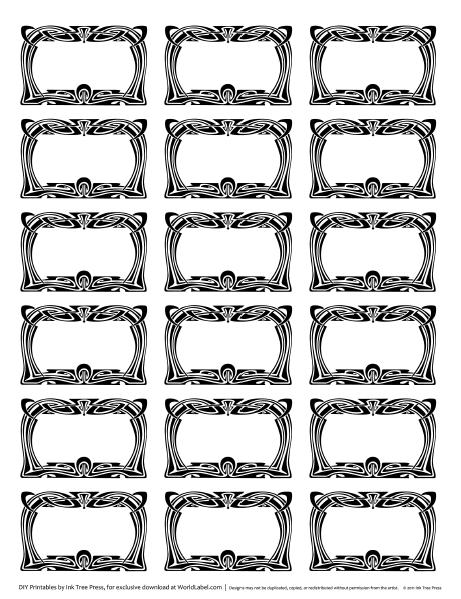 Blank Printable Cliparts