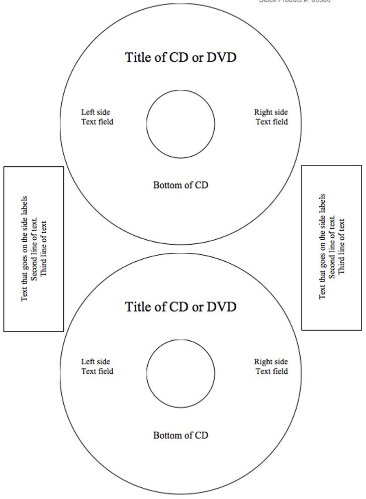Pro Office CD/DVD Labels Matte Memorex Core Compatible | ProTEKgr
