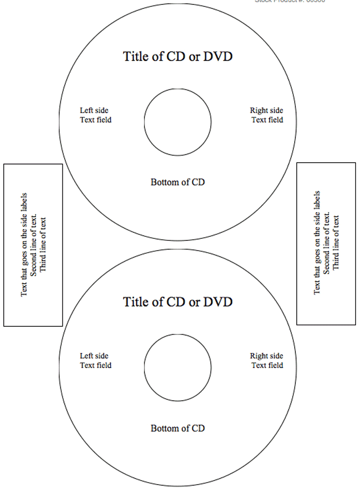 Pro Office CD/DVD Labels Matte Memorex Core Compatible | ProTEKgr