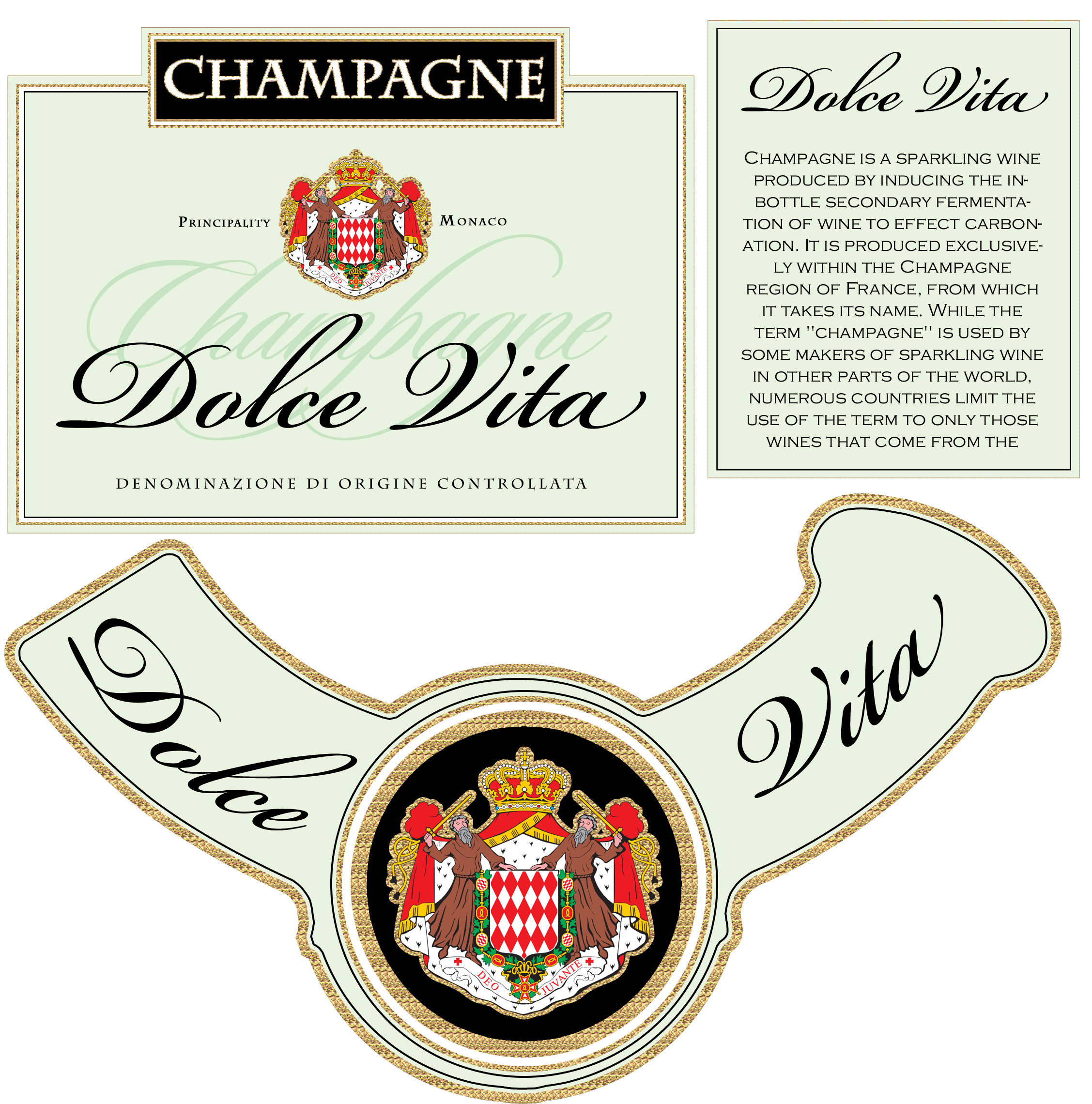 25 Images of Champagne Labels Template | infovia.net