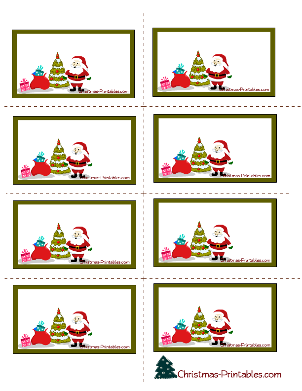 Be DifferentAct Normal: Free Printable Gift Tags [Christmas]
