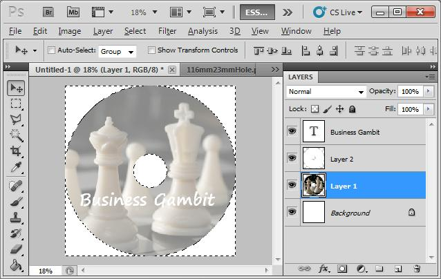 How to Design CD Label Using Photoshop for CD Replication or CD