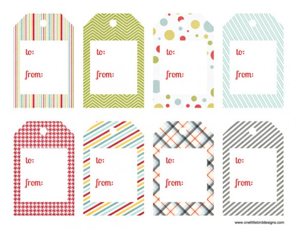 Frugal Life Project: Free Printable Gift Tags! love the shake it