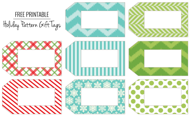 14 Gift Tags Template | Tip Junkie