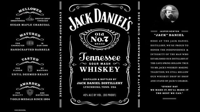 jack daniels label Bing Images | VINTAGE LABELS | Pinterest