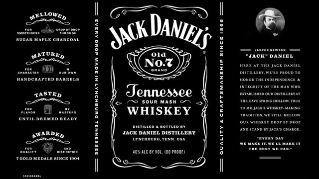 jack daniels label Bing Images | VINTAGE LABELS | Pinterest