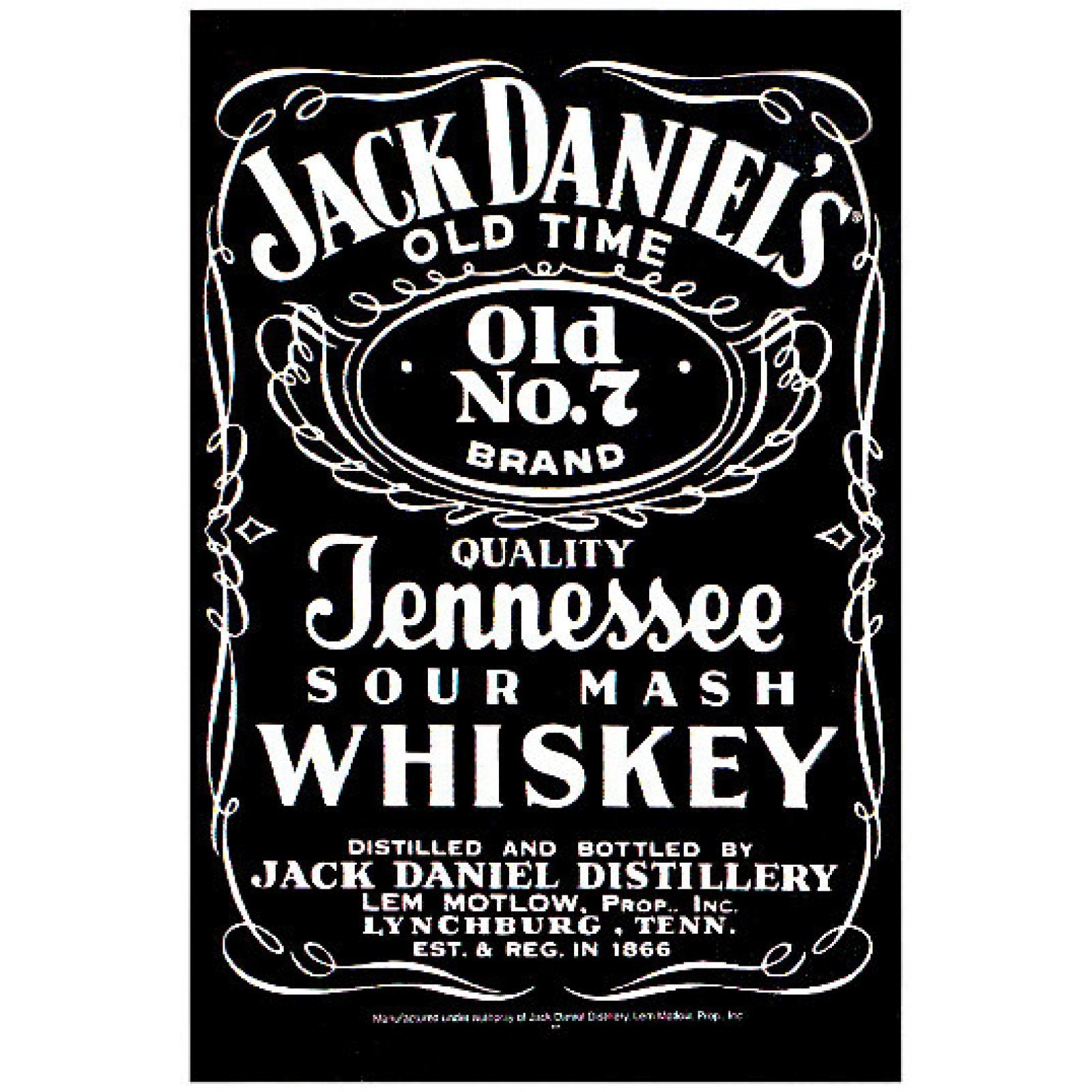 It's just a graphic of Effortless Jack Daniels Label Template